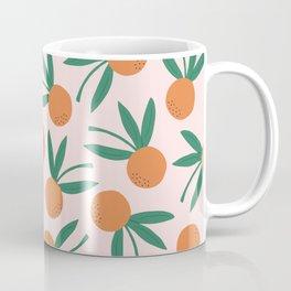 Citrus Pop Floral Coffee Mug