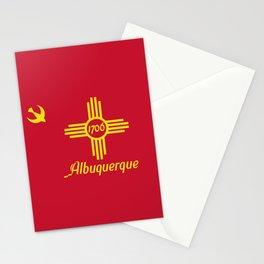 Flag of Albuquerque Stationery Cards