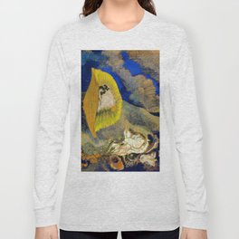 "Odilon Redon ""Vision sous-marine or Paysage sous-marin"" Long Sleeve T-shirt"