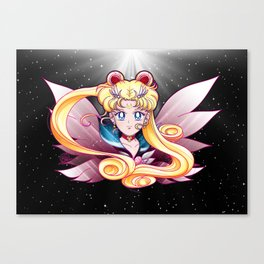 Eternal Sailor Moon (Universe edit) Canvas Print