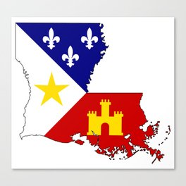Cajun Country Canvas Print