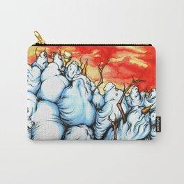 Snowman Apocalypse Carry-All Pouch