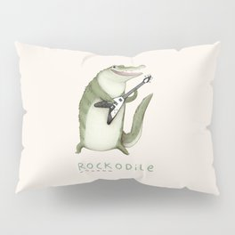 Rockodile Pillow Sham