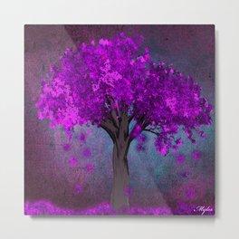 TREE OF PINK Metal Print