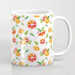 Orange lemon pattern Coffee Mug