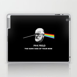 Pink freud the dark side of your mom Laptop & iPad Skin