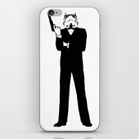 storm trooper iPhone & iPod Skins featuring Trooper... Storm Trooper 5 by Derek Donovan