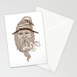 Haldor the Wizard Stationery Cards