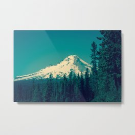 Mount Hood Metal Print
