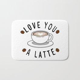 Latte Love Bath Mat