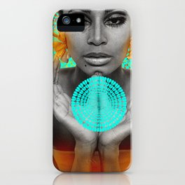 Supermodel Donyale 3 - Supermodels of the Sixties Series iPhone Case