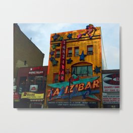 Yonge Street strip club, Toronto Metal Print