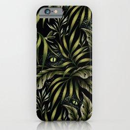 Jurassic Jungle - Camo Green iPhone Case