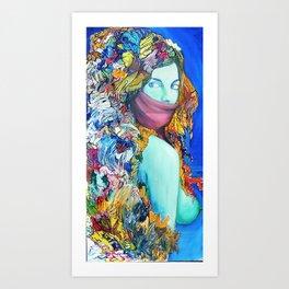 Medusas Sister Art Print