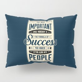 Lab No. 4 The Most Important Theodore Roosevelt Motivational Quotes Pillow Sham