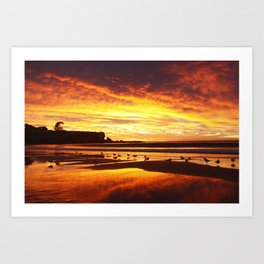 Coogee Sunrise Art Print