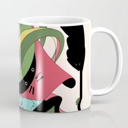 Cat on Tree Coffee Mug