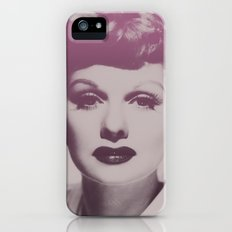 Lucille Ball iPhone (5, 5s) Slim Case