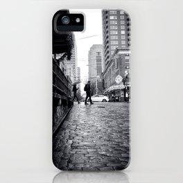 Find Love in the Rain iPhone Case