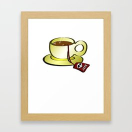 Capuccino Jack! Framed Art Print