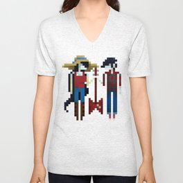 The Vampire Queen and King Unisex V-Neck