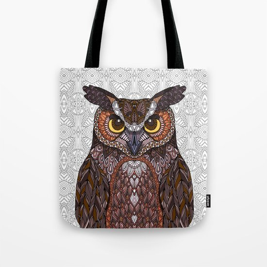 Great Horned Owl 2016 Tote Bag