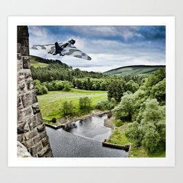 Vulcan Over the Dam Art Print