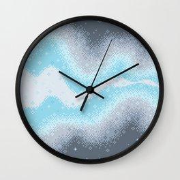 Demiboy Pride Flag Galaxy Wall Clock