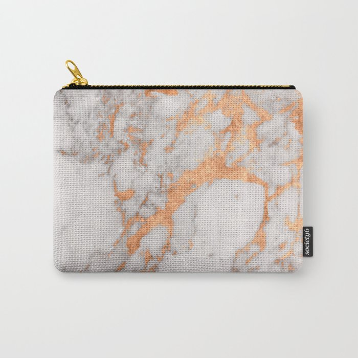 Copper Marble Carry-All Pouch