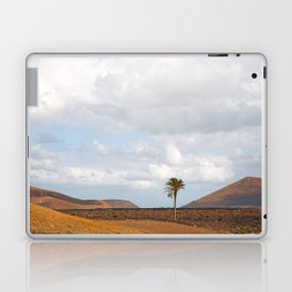 Lanzarote Palm tree landscape Laptop & iPad Skin