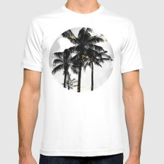 Afterglow Mens Fitted Tee MEDIUM White