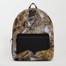 Citrine Crystals Backpack