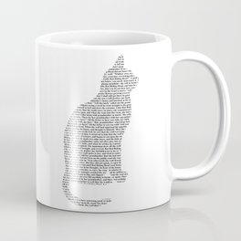 Cat - Cut out Coffee Mug