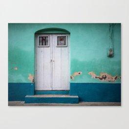 Doors of Antigua Canvas Print