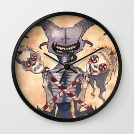Zef to Def Wall Clock
