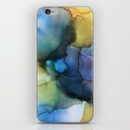And the Earth showed us her colors iPhone Skin
