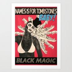 Tombstones Baby Art Print