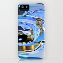 Face of the City iPhone Case
