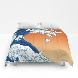 Llama Waves Comforters