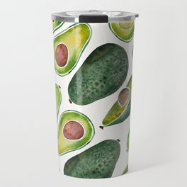 Avocado Slices Travel Mug