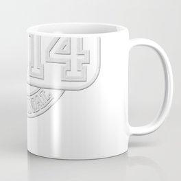 Birthday Established 2014 Original T-shirt - Embroidery look Coffee Mug