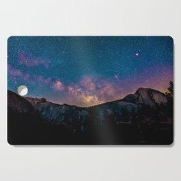 Galaxy Mountain Cutting Board