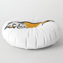 Comfy Calico Cat Floor Pillow