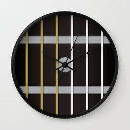 Guitar Neck Fretboard - Music Wall Clock