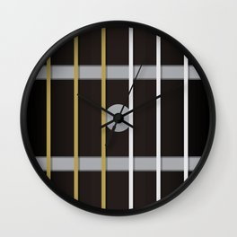 Guitar Neck Fretboard - Music Wall Clock