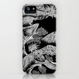 Japanese Birds Inverted iPhone Case