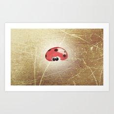 Mr. Ladybug Art Print