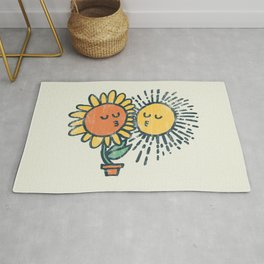 Sun Kissed sunflower Rug
