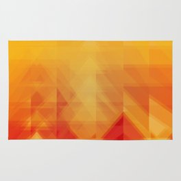 Elements - Fire Rug