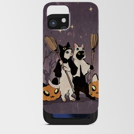halloween cats iPhone Card Case